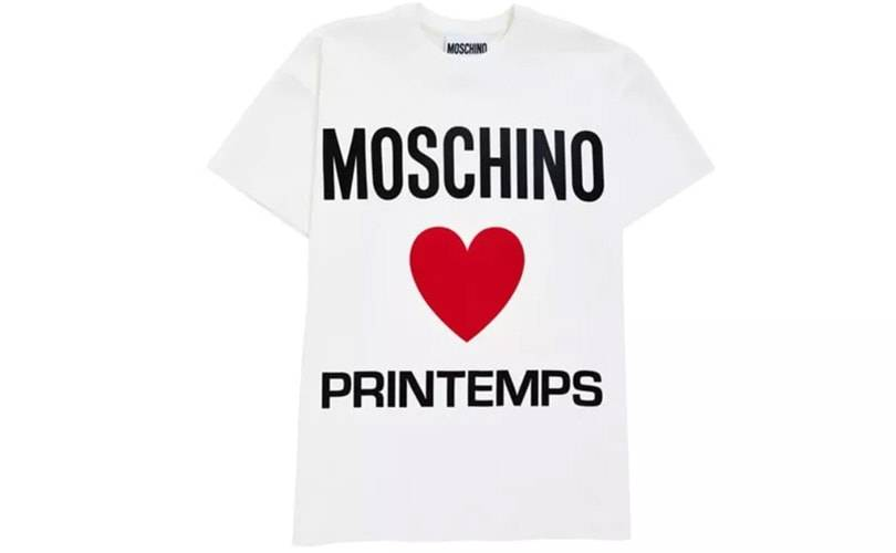 Moschino opent pop-upstore in Parijs warenhuis Printemps