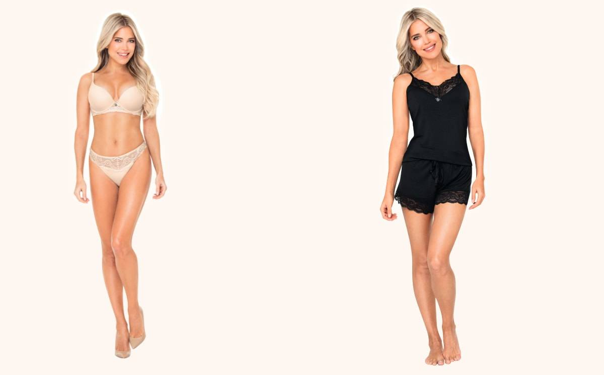 Aldi and Sylvie Meis continue collaboration with second lingerie collection