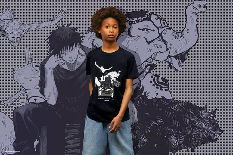 UNIQLO UT lanza diseños exclusivos en camisetas con la popular serie de manga Jujutsu Kaisen el 28 de mayo