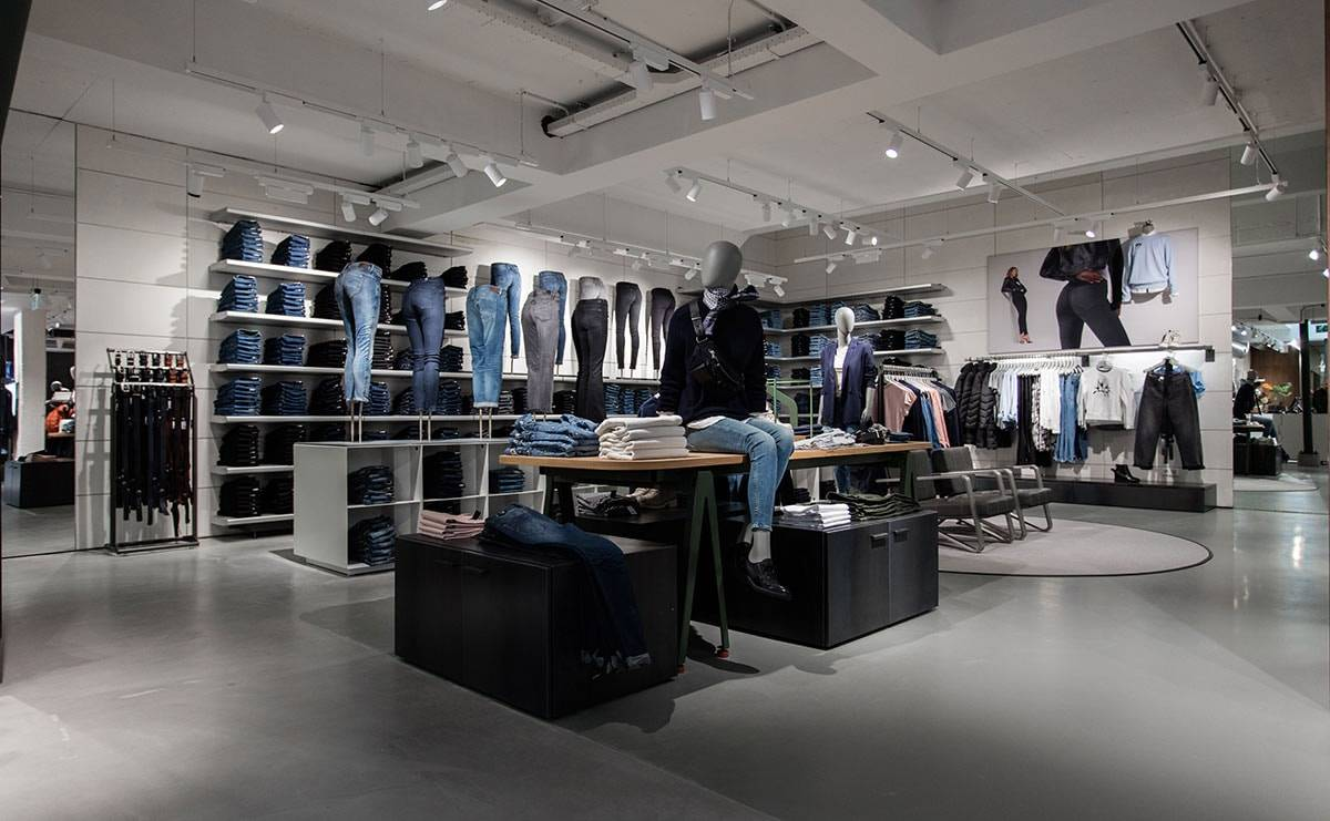 In beeld: G-Star Raw heropent flagshipstore in Rotterdam