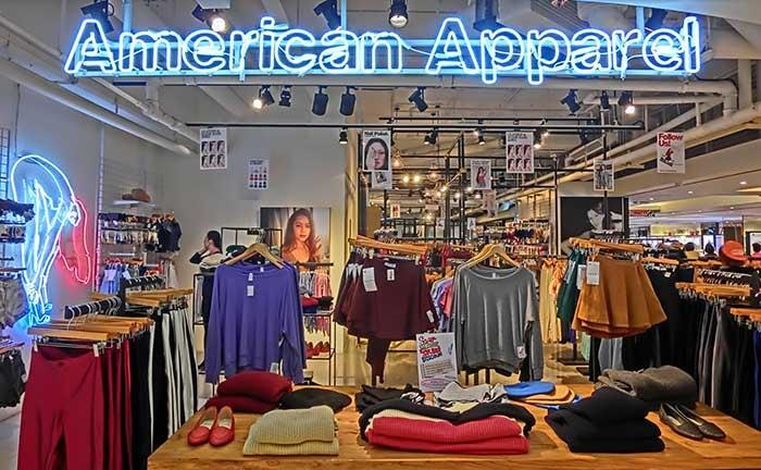 American Apparel zakt steeds verder weg