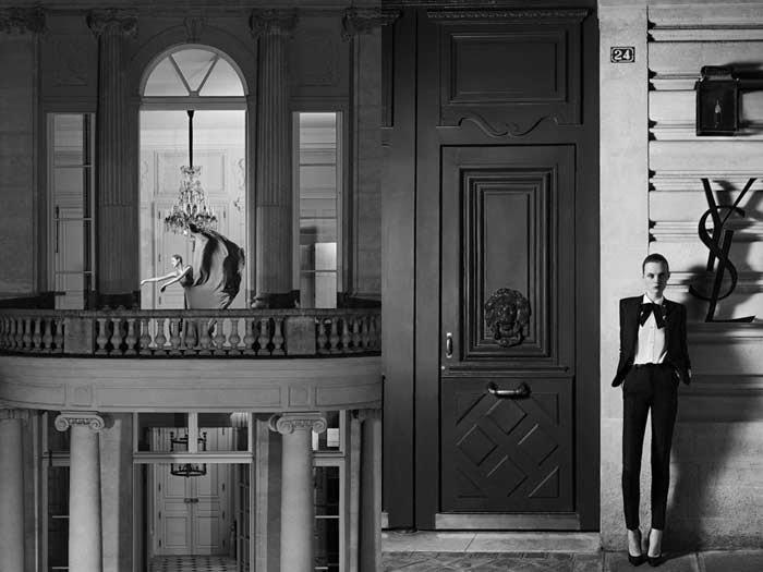 Yves Saint Laurent keert terug naar haute couture