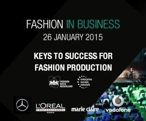 'Fashion in Business' during Mercedes-Benz FashionWeek Amsterdam