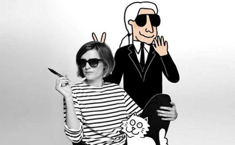 Karl Lagerfeld maakt capsule collectie met cartooniste Tiffany Cooper