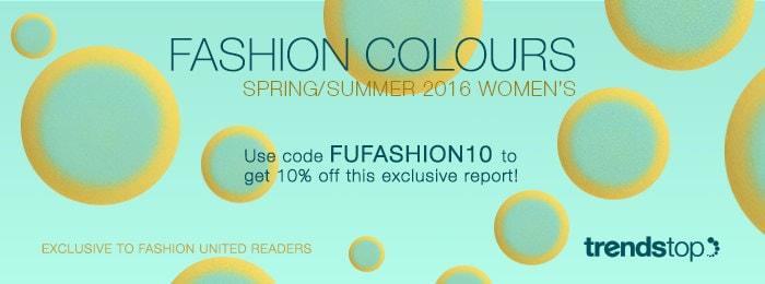 Belangrijke kleurentrends voor voorjaar/zomer 2016