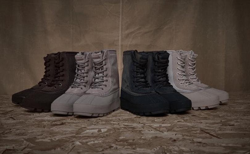 Kanye West's 950s Boot zo goed als uitverkocht
