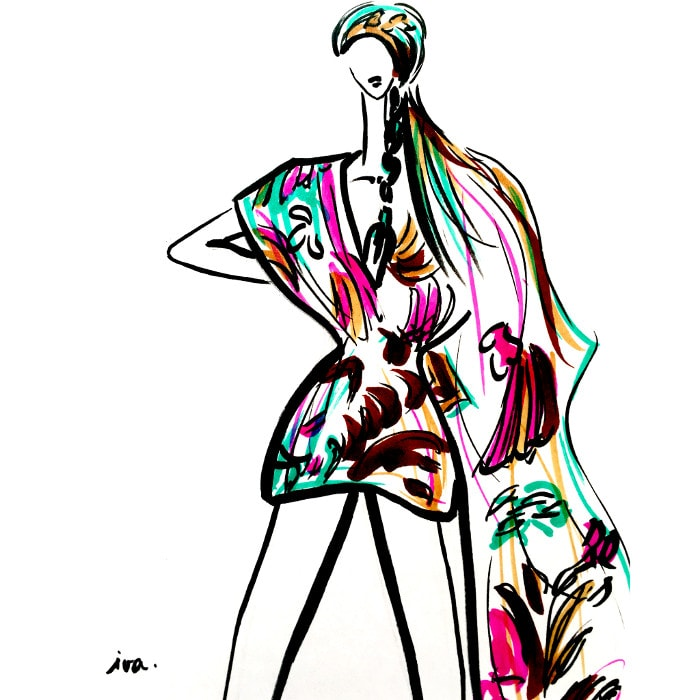 Illustraties: H&M's designersamenwerkingen in beeld