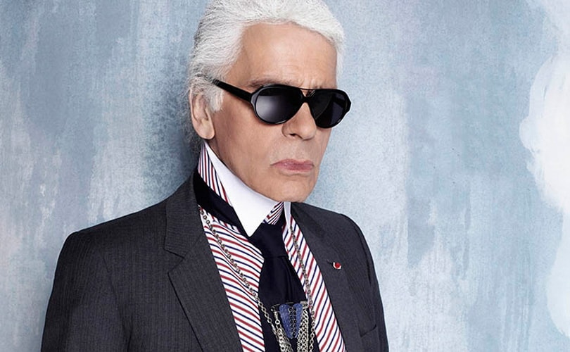 Karl Lagerfeld ontvangt Outstanding Achievement Award