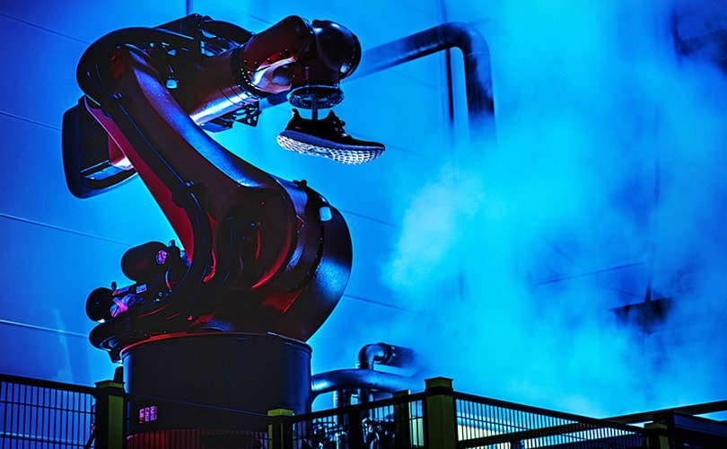 Adidas gaat voor snelle productie met 'Speedfactory'