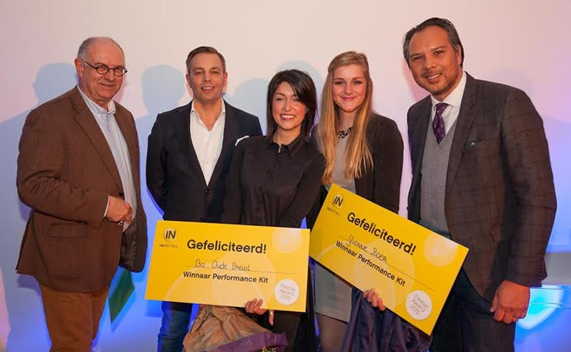Yvonne Stoer en Bo Oude Breuil winnen Inretail Award