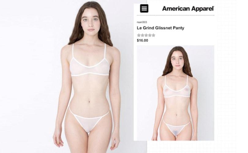 Kritiek op seksloze imago dat nieuwe CEO American Apparel wil