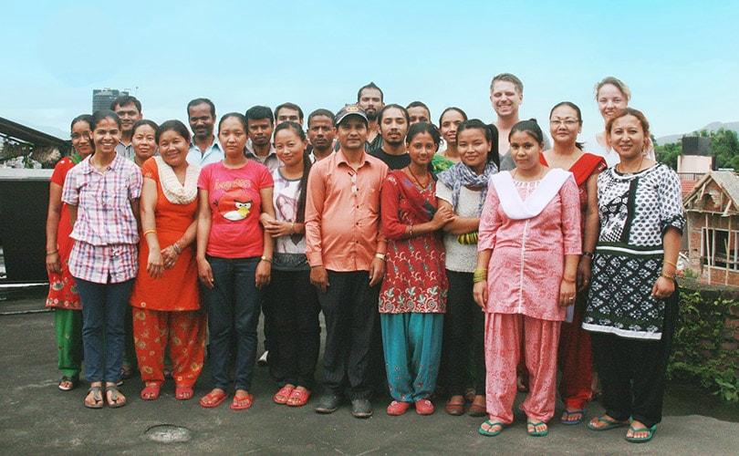 Studio Jux zamelt geld in voor Nepal