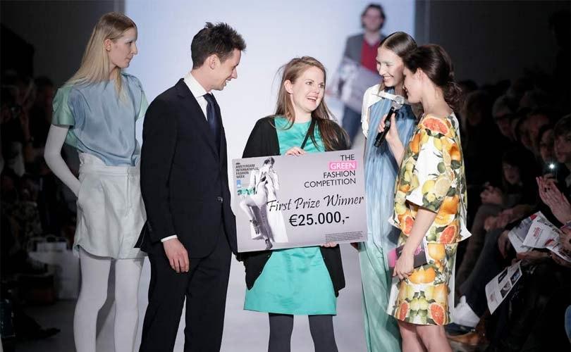 En de winnaar is... Elsien Gringhuis, Green Fashion Competition 2011