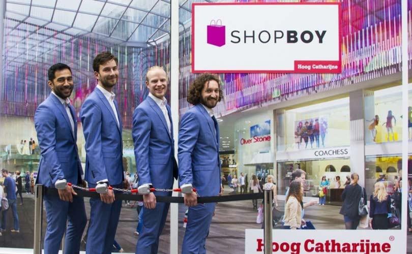 Voor 2 euro shoppen met een man in Hoog Catharijne