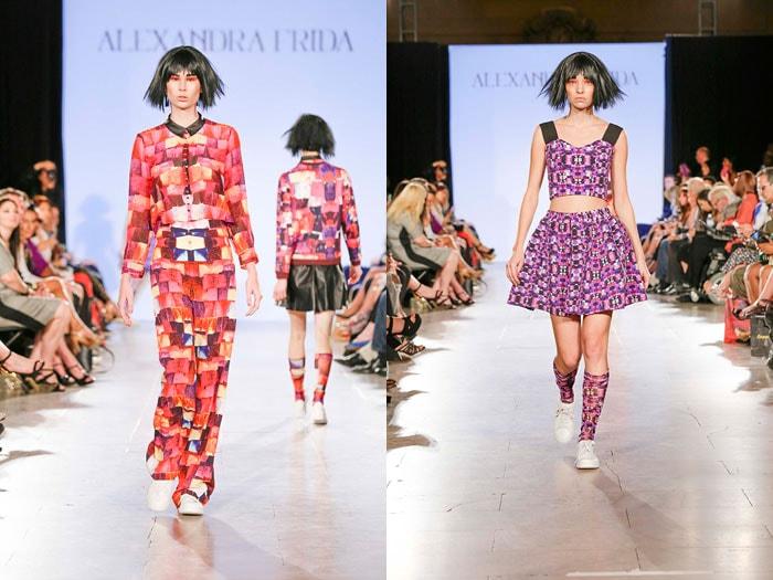 Alexandra Frida: 'New York Fashion Week ging als een roes voorbij'