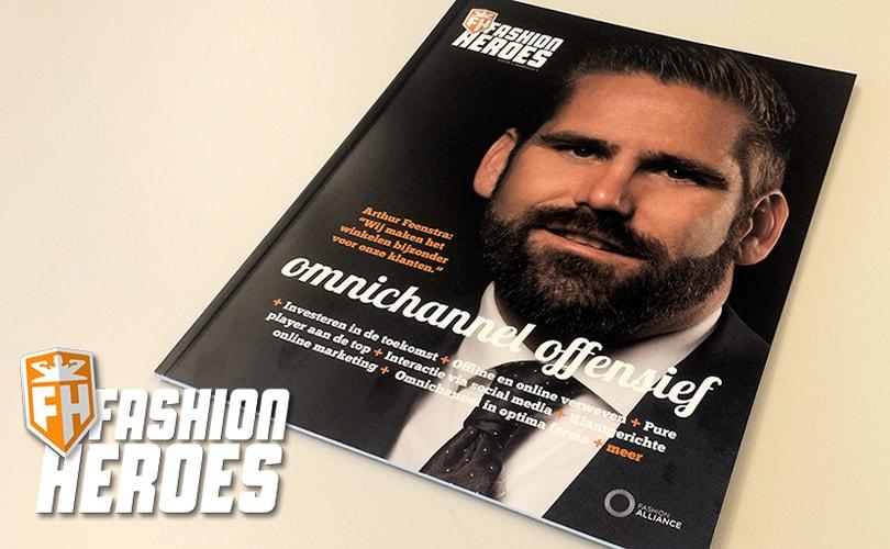 Lancering magazine voor Fashion Heroes