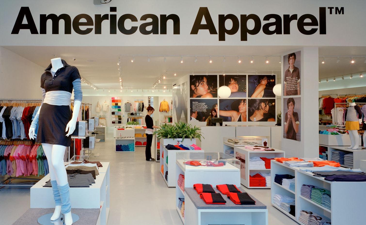 American Apparel vraagt uitstel van betaling aan