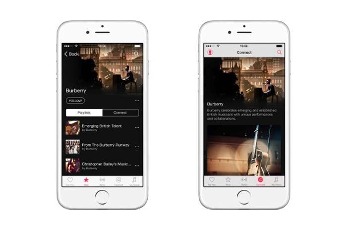Burberry introduceert als eerste modehuis een muziekkanaal