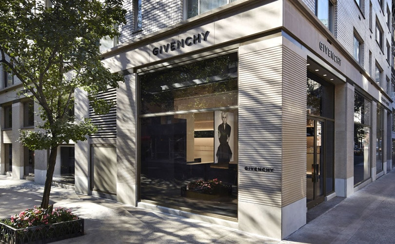 Givenchy onthult nieuwe flagshipstore in New York