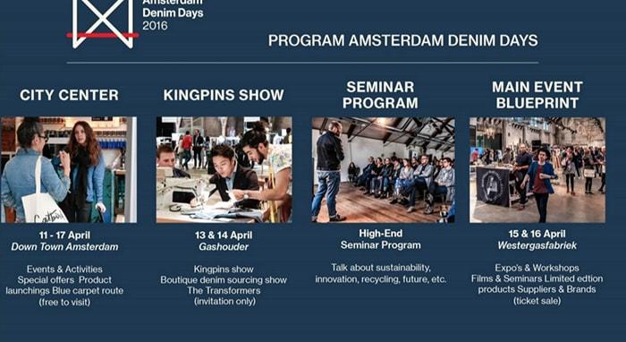 Amsterdam Denim Days 2016: Publieksprogramma