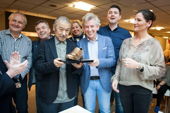 Gouden schoen 2016 voor Nimco's Xsensible
