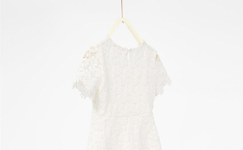 Zara verrast door run op wit jurkje prinses Alexia