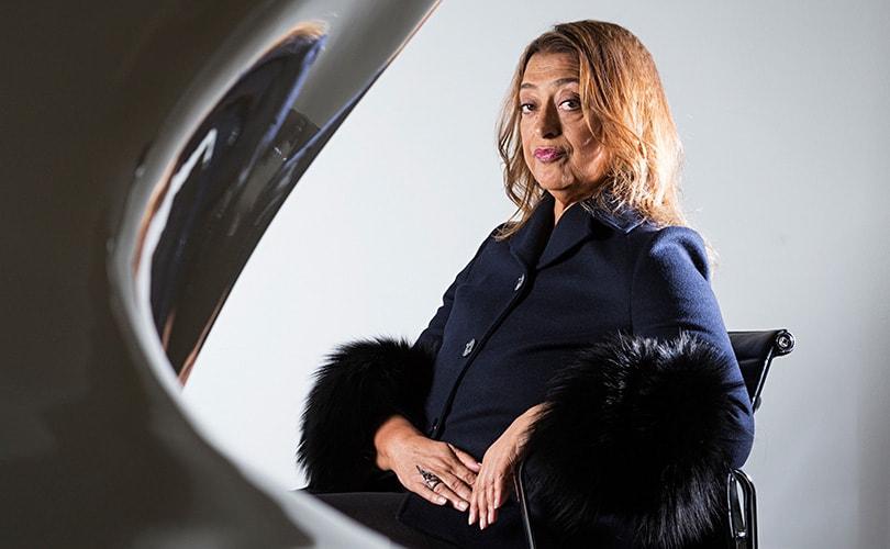 Lievelingsarchitect van de modewereld, Zaha Hadid, overleden