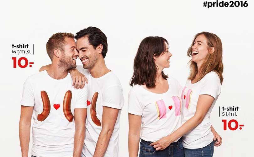 Hema lanceert T-shirt collectie ter ere van Gay Pride