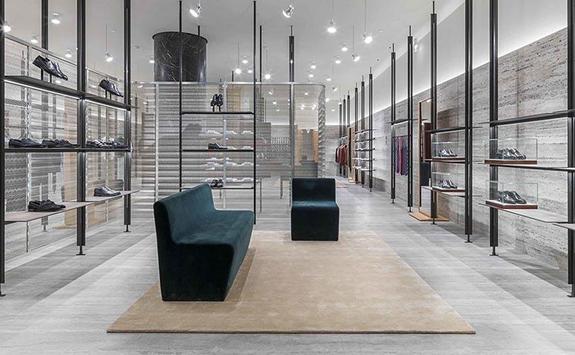 Kijken: Nieuw winkelconcept van Brioni in Parijs