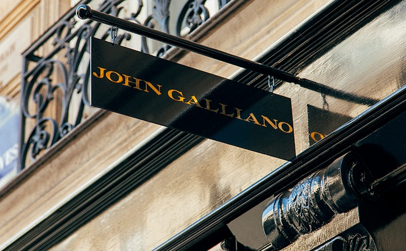 John Galliano onthult nieuwe retailconcept