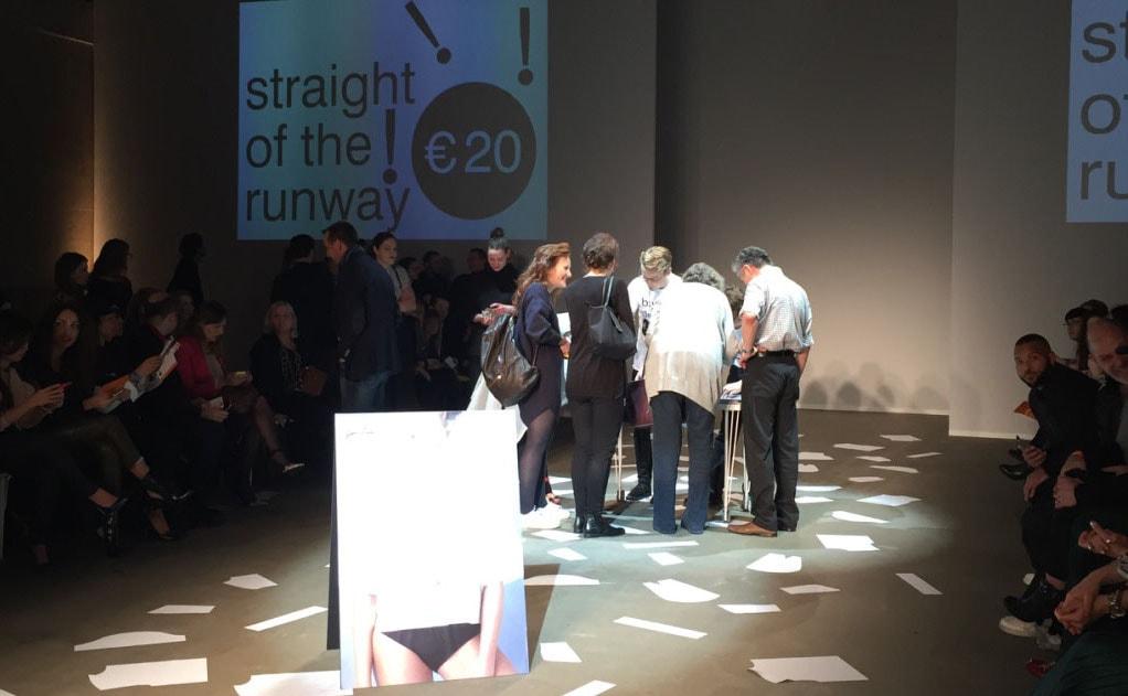 Amsterdam Fashion Week: Lisa Konno verkoopt op de catwalk