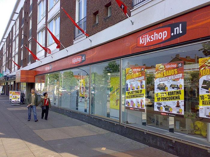 Neckermann maakt entree in de winkelstraat
