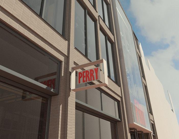 Perry lanceert nieuw winkelconcept in Amsterdam