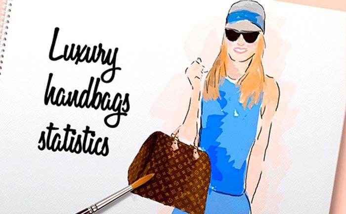 Infographic serie: de belangrijkste modecijfers over luxe handtassen