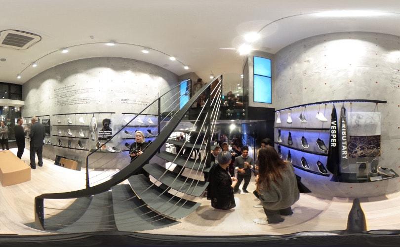 360° video - Zo ziet de nieuwe Ecco W-21 store met innovatie lab eruit
