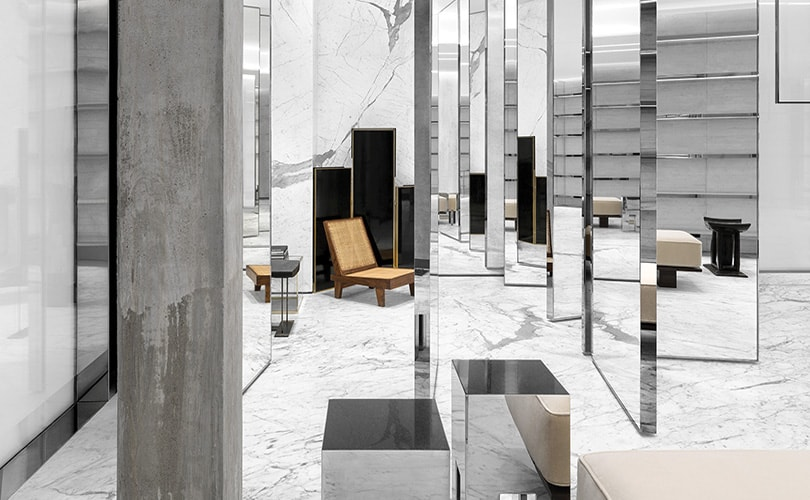 Kijken: de Saint Laurent winkel in Miami's design district