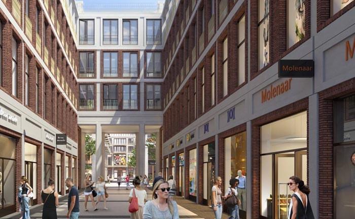 Herstel in project het nieuwe Leidsche Rijn Centrum
