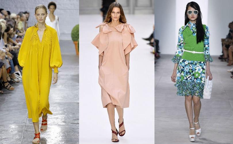 Gespot op de catwalk: de modekleuren voor lente/zomer 2017