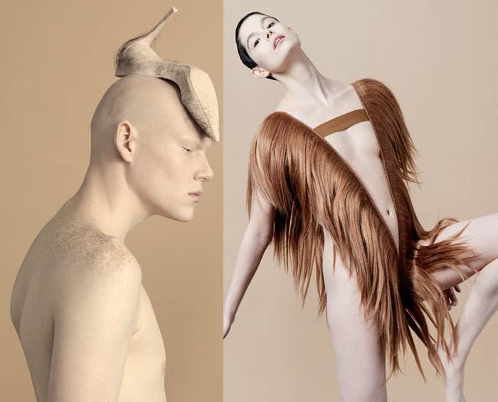 Mode van mensenhaar: verontrustend en fascinerend