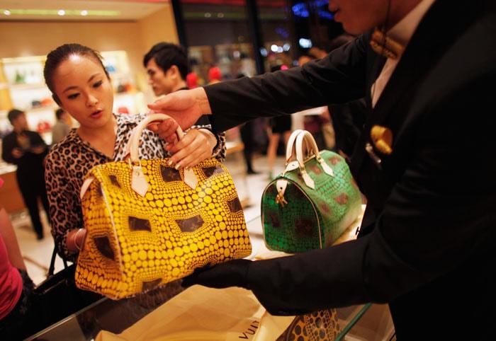China is goed voor 46 procent van de omzet in de luxe-industrie