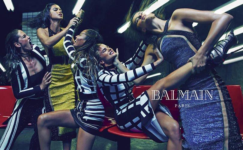 Modehuis Balmain is op zoek naar een koper