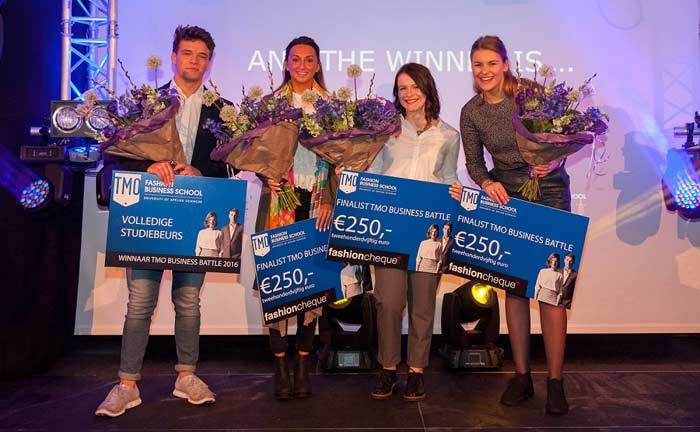 Scholier Bradley Macquiné wint TMO Business Battle