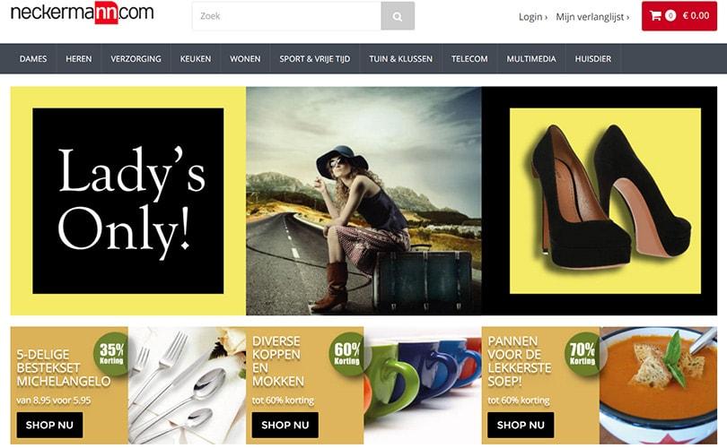 'Neckermann.com gaat zich richten op webshop'