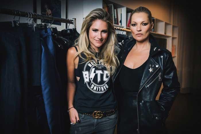 Kate Moss krijgt eigen kledinglijn bij Nikkie Plessen