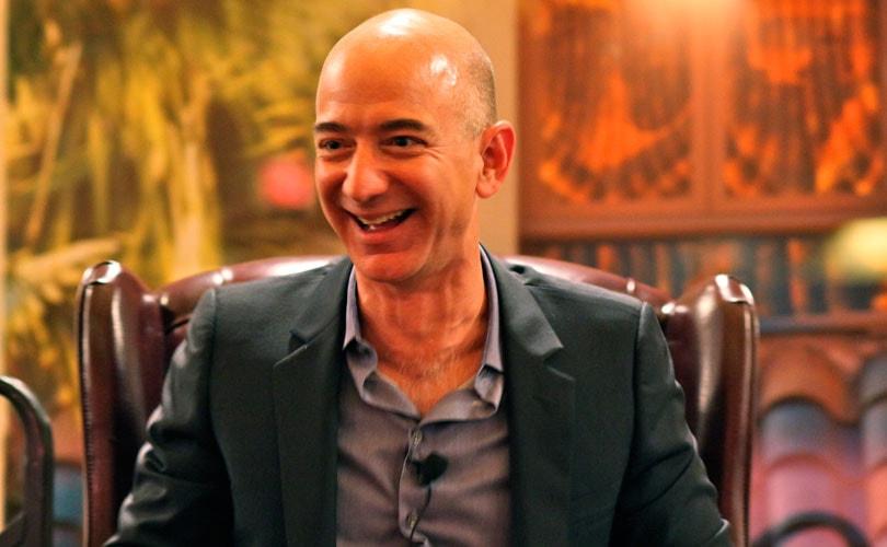 De rijkste modemensen: Jeff Bezos CEO van Amazon ervaart beste jaar ooit