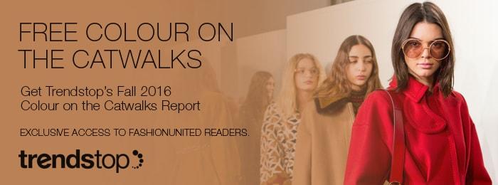 Herfst/Winter 2017-18 Damesmodekleuren op de Catwalks