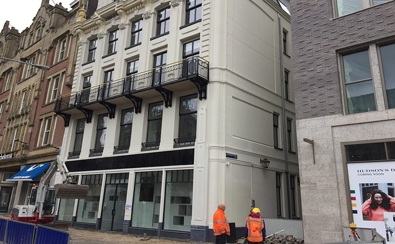 Extra pand voor Hudson's Bay Amsterdam