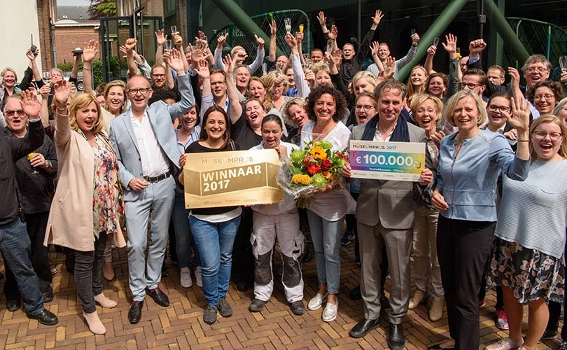 Textielmuseum in Tilburg wint Museumprijs 2017