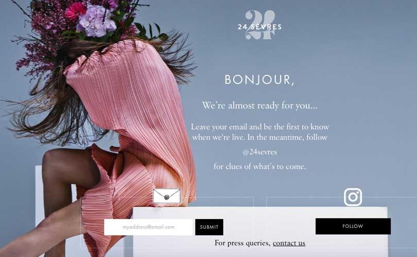 Online multibrand warenhuis van LVMH heet '24 Sevres'