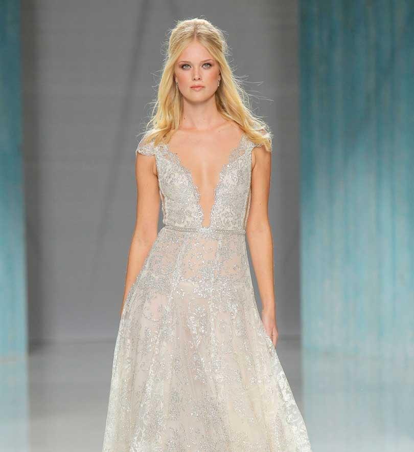 Gypsy & metallic: opvallende bruidsjurken trends voor 2018